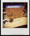 The desk for UX Designer. Kinda.